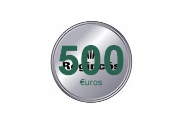 500 € / Euros
