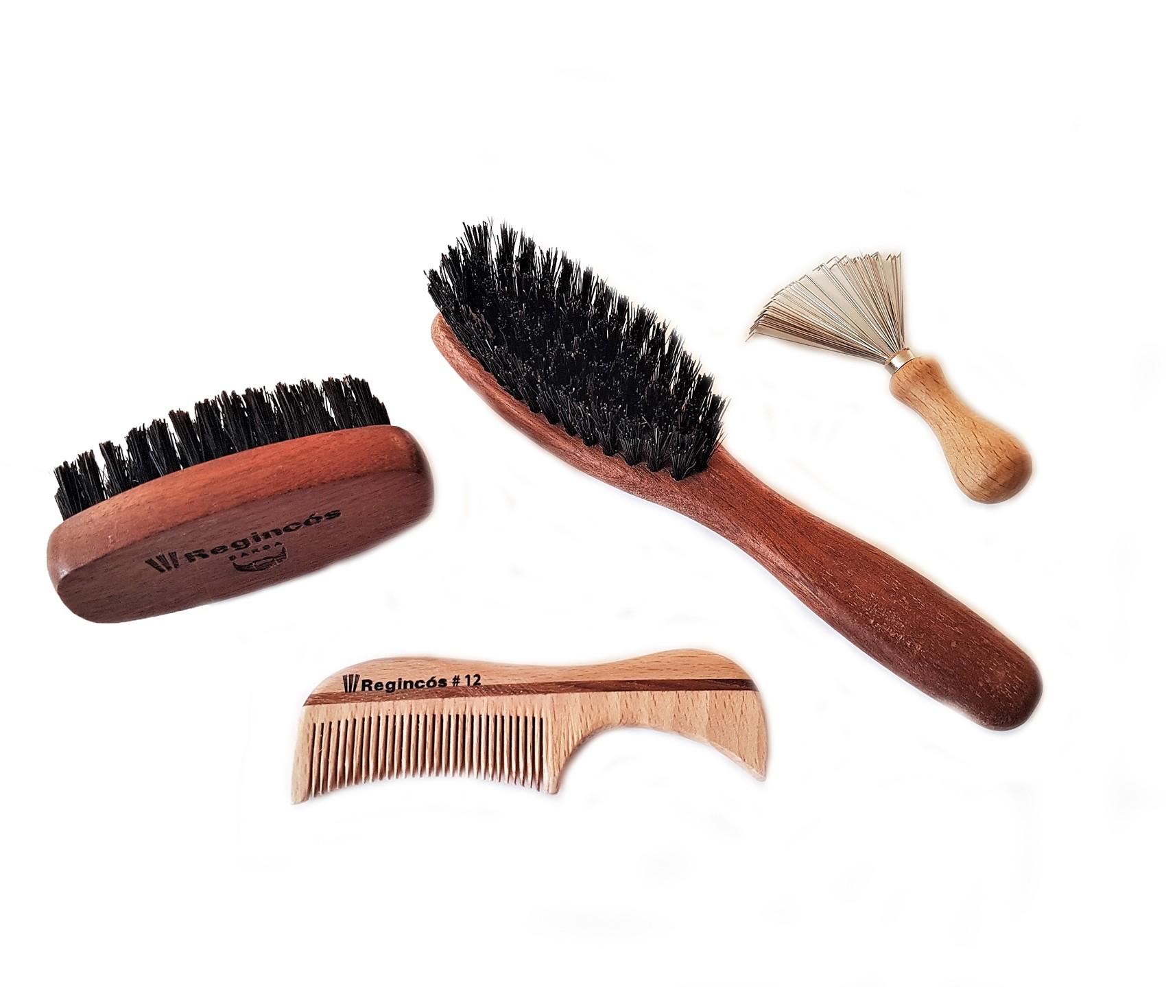 Set cepillos Barba y Bigote