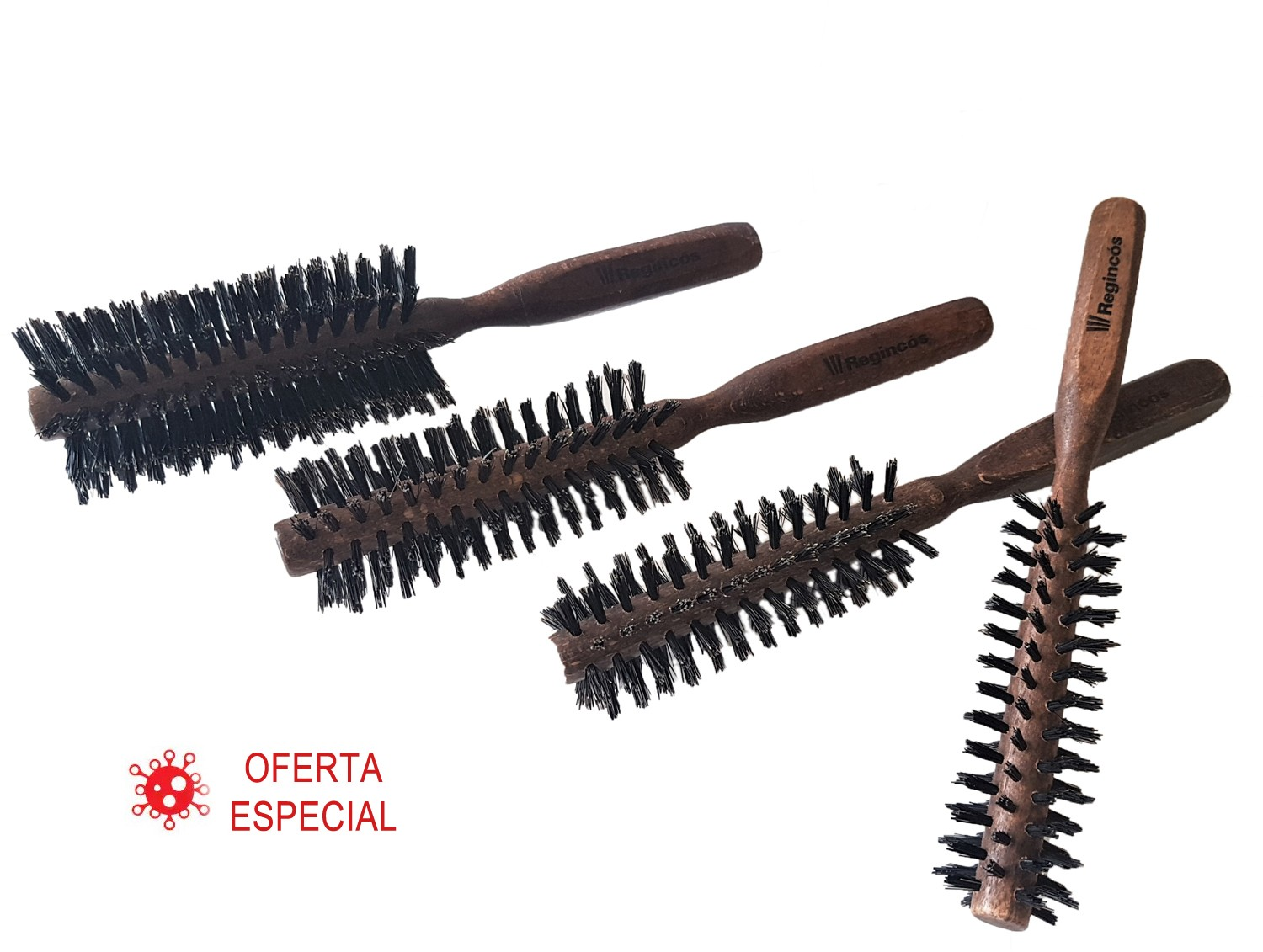 Pack Wood 4 brushes