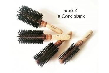 Pack e.Cork black 4 brushes