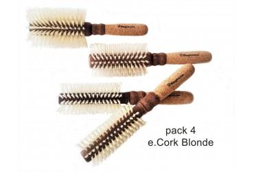 Pack e.Cork blonde 4 brushes